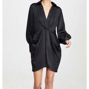 C/Meo collective no time black dress long sleeve